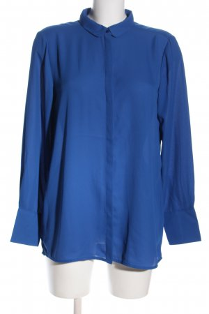 Soyaconcept Langarmhemd blau Business-Look