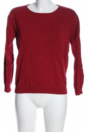 Soyaconcept Rundhalspullover rot Casual-Look