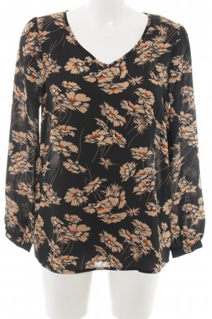 Soyaconcept Schlupf-Bluse Allover-Druck Casual-Look