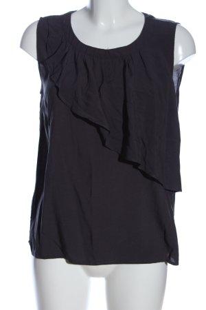 Soyaconcept Schlupf-Bluse schwarz Casual-Look