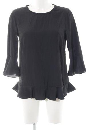 Soyaconcept Schlupf-Bluse dunkelblau Elegant