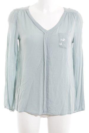 Soyaconcept Schlupf-Bluse blau Casual-Look