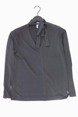 soyaconcept Schluppenbluse Größe S Langarm grau aus Polyester
