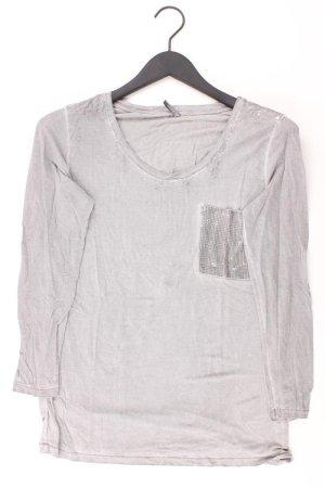 soyaconcept Shirt Größe M grau aus Viskose