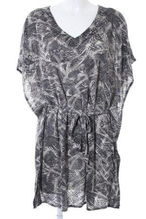Soyaconcept Shirtkleid abstraktes Muster Casual-Look