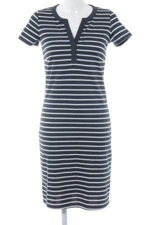 Soyaconcept Shirtkleid schwarz-weiß Streifenmuster Casual-Look