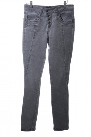 Soyaconcept Skinny Jeans hellgrau Farbverlauf Casual-Look