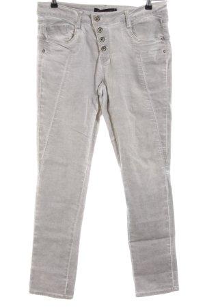 Soyaconcept Jeans slim gris clair style décontracté