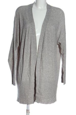 Soyaconcept Cardigan in maglia grigio chiaro puntinato stile casual