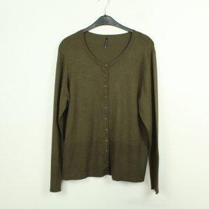 Soyaconcept Giacca in maglia verde scuro-grigio-verde