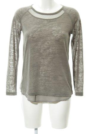 Soyaconcept Strickshirt grau Casual-Look