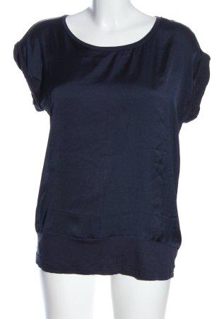 Soyaconcept T-Shirt blau Business-Look
