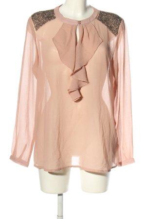 Soyaconcept Transparenz-Bluse nude Elegant