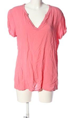 Soyaconcept V-Ausschnitt-Shirt pink Casual-Look