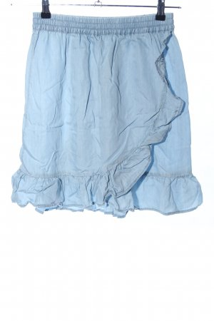 Soyaconcept Volanten rok blauw casual uitstraling