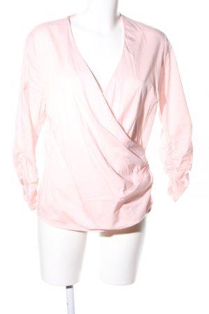 Soyaconcept Wikkelblouse roze zakelijke stijl
