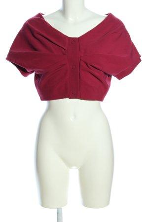 Space Style Concept Bolero rosso elegante