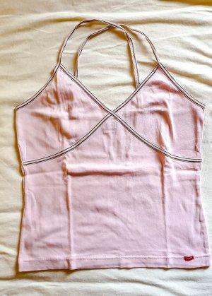 Esprit Top de tirantes finos rosa claro