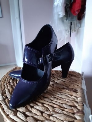 Marco Tozzi Backless Pumps dark violet