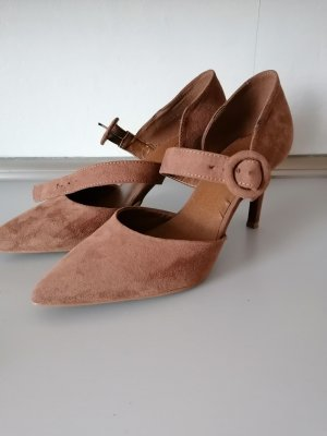 Catwalk Backless Pumps brown