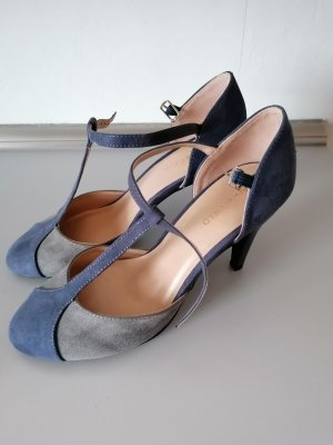 Anna Field Backless Pumps blue