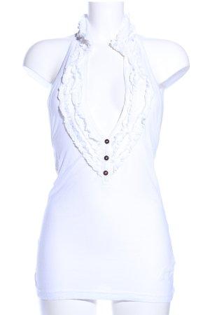 Halter Top white elegant