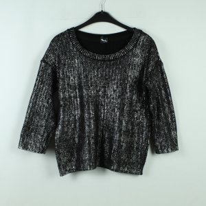 SPARKLE & FADE by URBAN OUTFITTERS Pullover Gr. S schwarz/silber (20/10/265*)