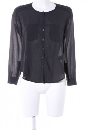 Sparkle & Fade Hemd-Bluse schwarz Business-Look