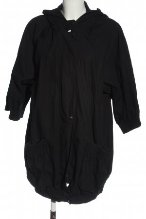 Sparkle & Fade Giacca con cappuccio nero stile casual