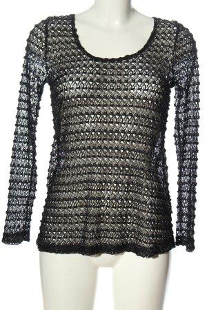 Sparkle & Fade Manica lunga nero stile casual