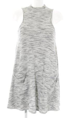 Sparkle & Fade Minikleid hellgrau-grau meliert Casual-Look