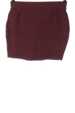Sparkle & Fade Minigonna rosso stile casual