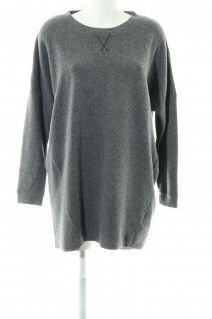 Sparkle & Fade Oversized Pullover hellgrau meliert Casual-Look