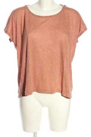 Sparkle & Fade Camicia oversize color carne puntinato stile casual