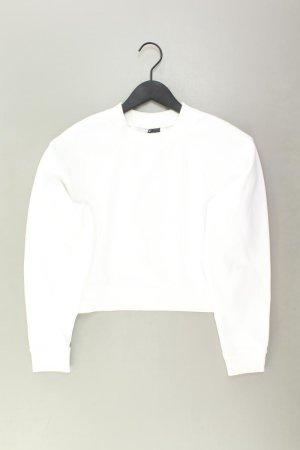 Sparkle & Fade Pullover Größe XS weiß aus Polyester