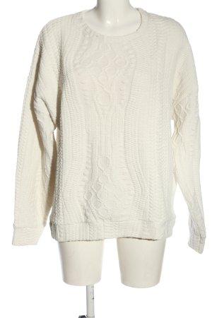 Sparkle & Fade Maglione girocollo bianco sporco stile casual