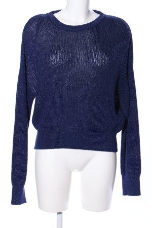 Sparkle & Fade Strickpullover blau Casual-Look