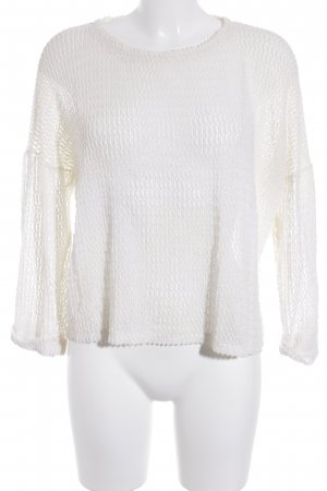 Sparkle & Fade Strickpullover wollweiß Casual-Look