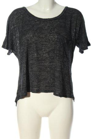 Sparkle & Fade Camicia maglia grigio chiaro puntinato stile casual