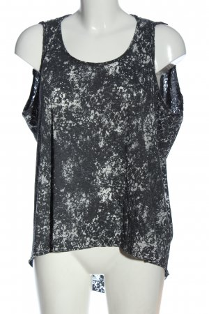 Sparkle & Fade T-shirt stampa integrale stile casual