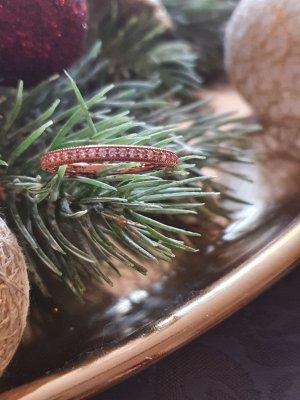 Pandora Statement Ring pink