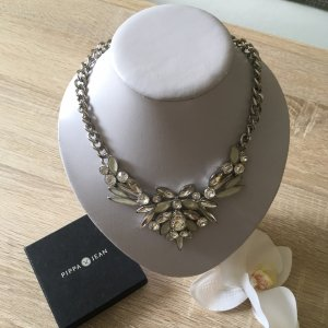 Pippa & Jean Statement Necklace silver-colored-light grey
