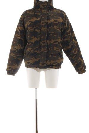 Sparkz Übergangsjacke braun Camouflagemuster Casual-Look
