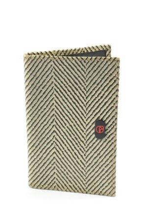 Spazio Donna Porte-cartes blanc cassé-noir imprimé avec thème