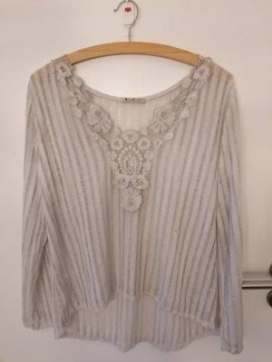 Spazio Donna Oversized Shirt light grey