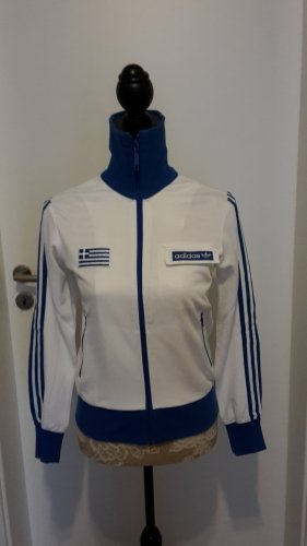 Adidas Originals Sports Jacket white-blue