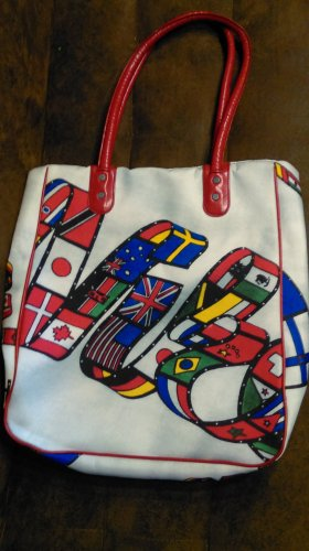Special Nike Tasche 1984 LA Olymics, unbedingt ansehen, recycled