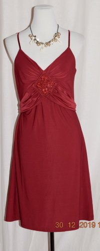 Speechless Cocktail-Kleid Party-Kleid Gr S rot