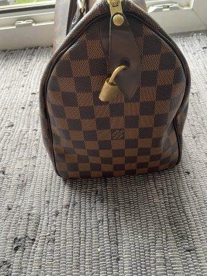 Louis Vuitton Sac Baril brun cuir