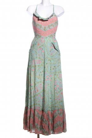 Spell & The Gypsy Maxikleid abstraktes Muster Casual-Look